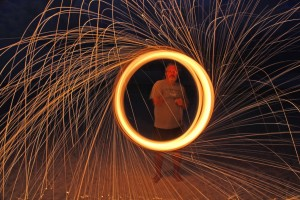 Glen Steel Wool Fire